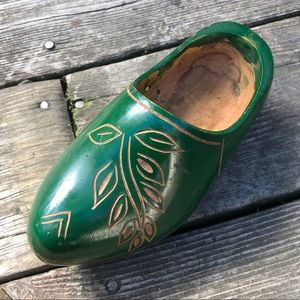 ✨Hand Painted Etched Dutch Clog Decoration
